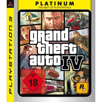 Grand Theft Auto IV (Platinum) GTA 4 (Playstation 3)
