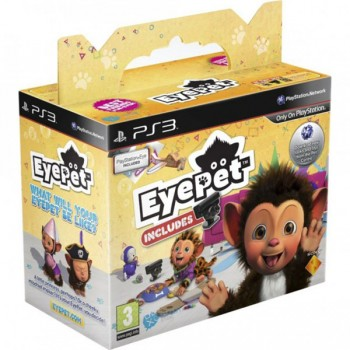 EyePet + камера (Playstation 3)