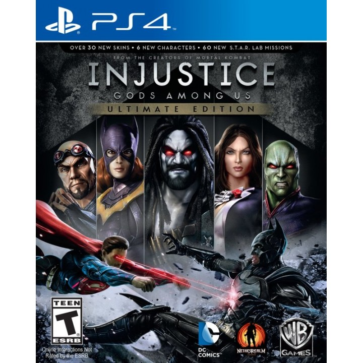 Игра для Playstation 4 Injustice: Gods Among Us Ultimate Edition