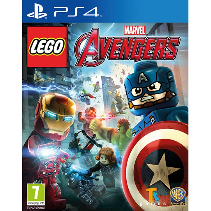 Игра для Playstation 4 LEGO: Marvel Мстители