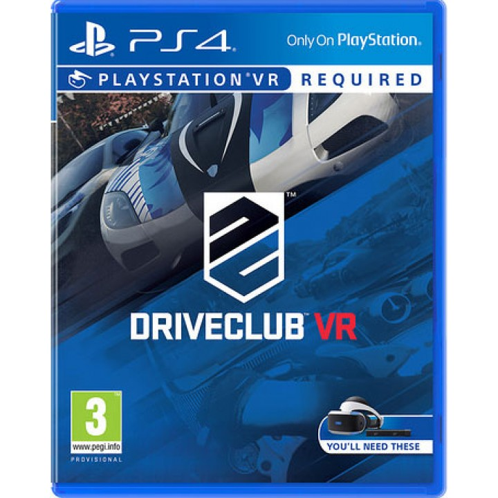 Игра для Playstation 4 DriveClub VR
