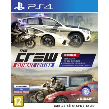 The Crew Ultimate Edition (Playstation 4)