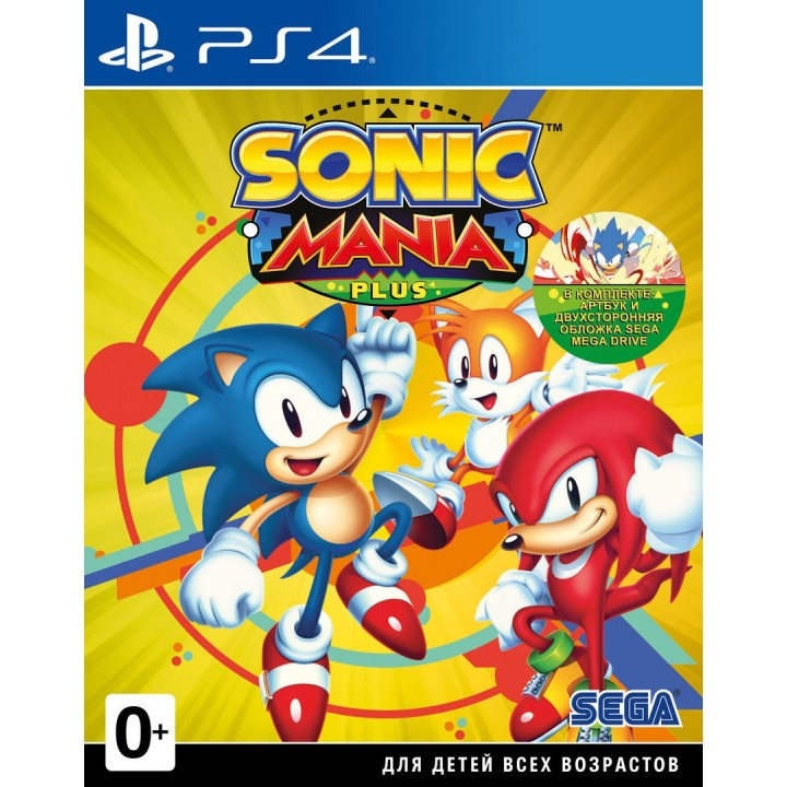 Игра для Playstation 4 Sonic Mania Plus