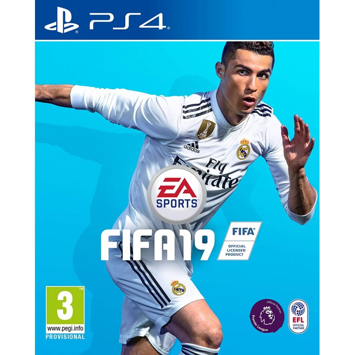 Игра для Playstation 4 FIFA 19