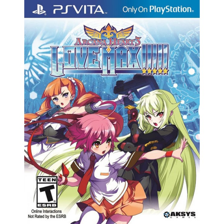 Игра для PS Vita Arcana Heart 3: Love Max
