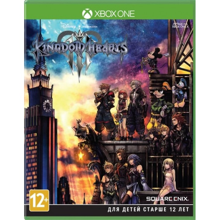 Игра для Xbox One Kingdom Hearts III