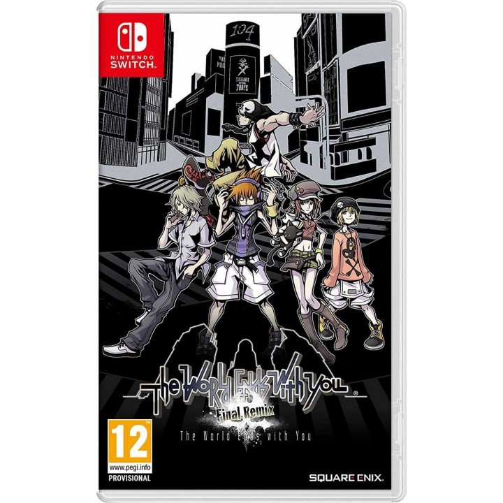 Игра для Nintendo Switch The World Ends With You: Final Remix