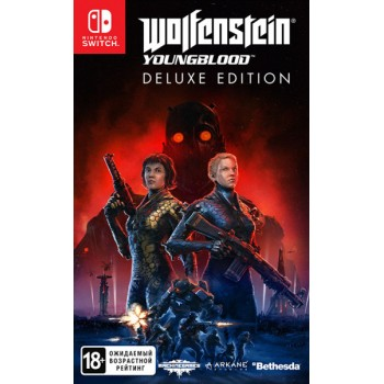 Wolfenstein Youngblood. Deluxe Edition [Код на загрузку] (Nintendo Switch)