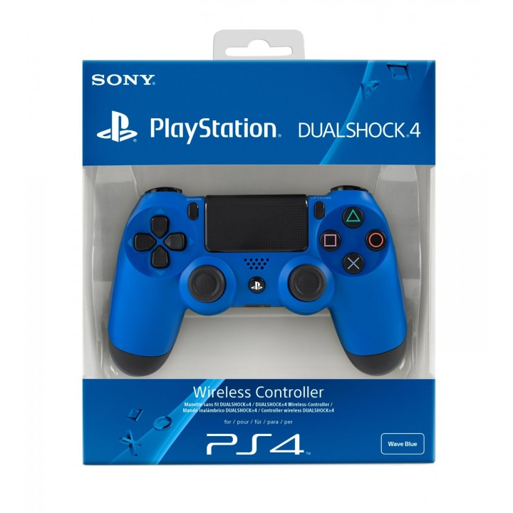 Геймпад Dual Shock 4 (Playstation 4) синий